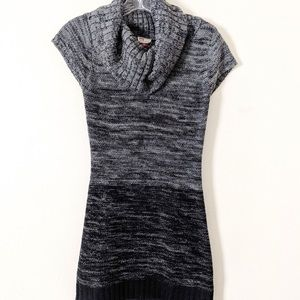 Lei Cowl Neck Sweater Dress